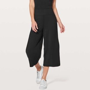 "Lululemon Blissed Out Black 21"" Culottes"